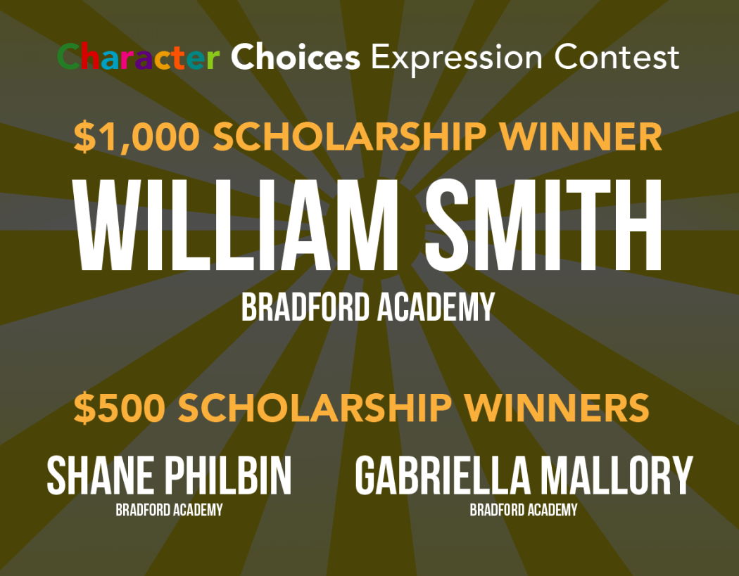 Image Of William Smith A Scholarship Winner Announced By Charter School Management In Grand Rapids, MI - Choice Schools Associates