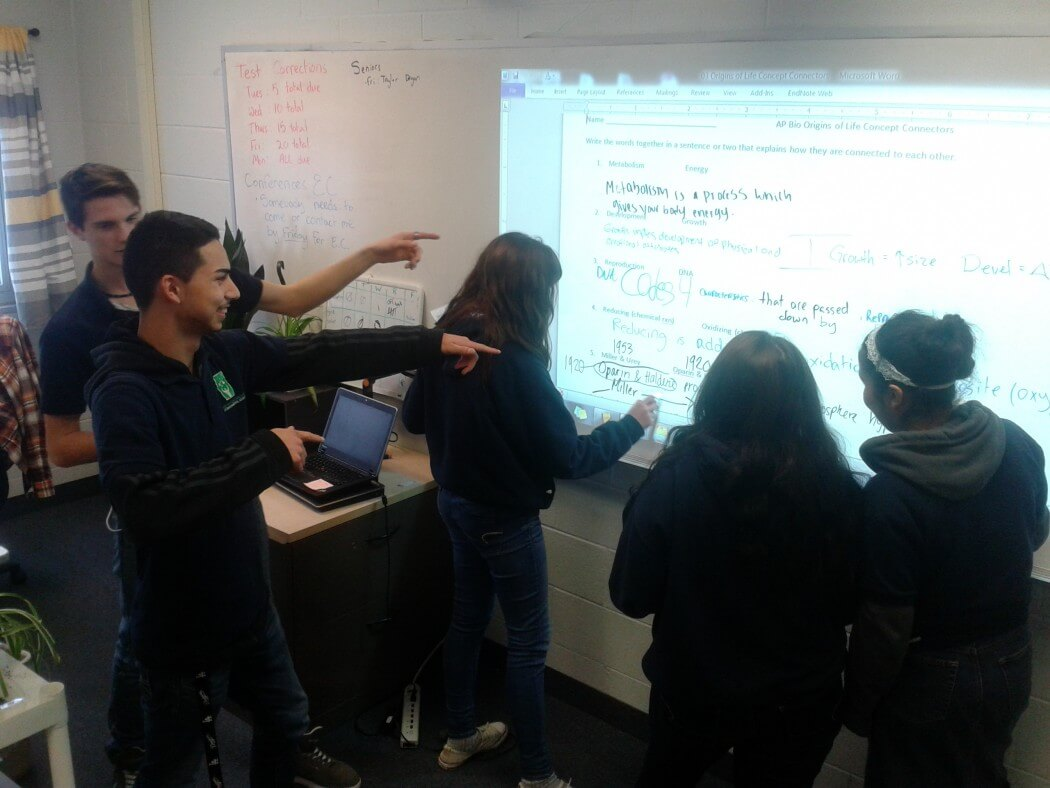 Picture Of Students Learning About Character Choices From Charter School Education Providers In Detroit, MI - Choice Schools Associates
