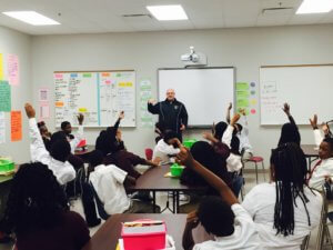 Photo Of Students Attending Lecture From A Charter School Education Provider In Grand Rapids, MI - Choice Schools Associates