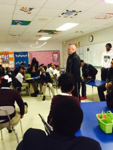 Image Of Students In A Classroom Learning About Qualities of A Charter School In Detroit, MI - Choice Schools Associates