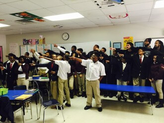 Image Of Students Demonstrating Qualities Of A Charter School In Lansing, MI - Choice Schools Associates