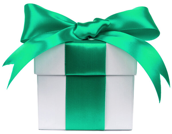 green-bow-gift