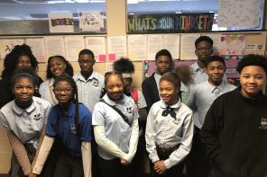 Dove-Academy-honoring-first-middle-schoolers-into-National-Junior-Honors-Society