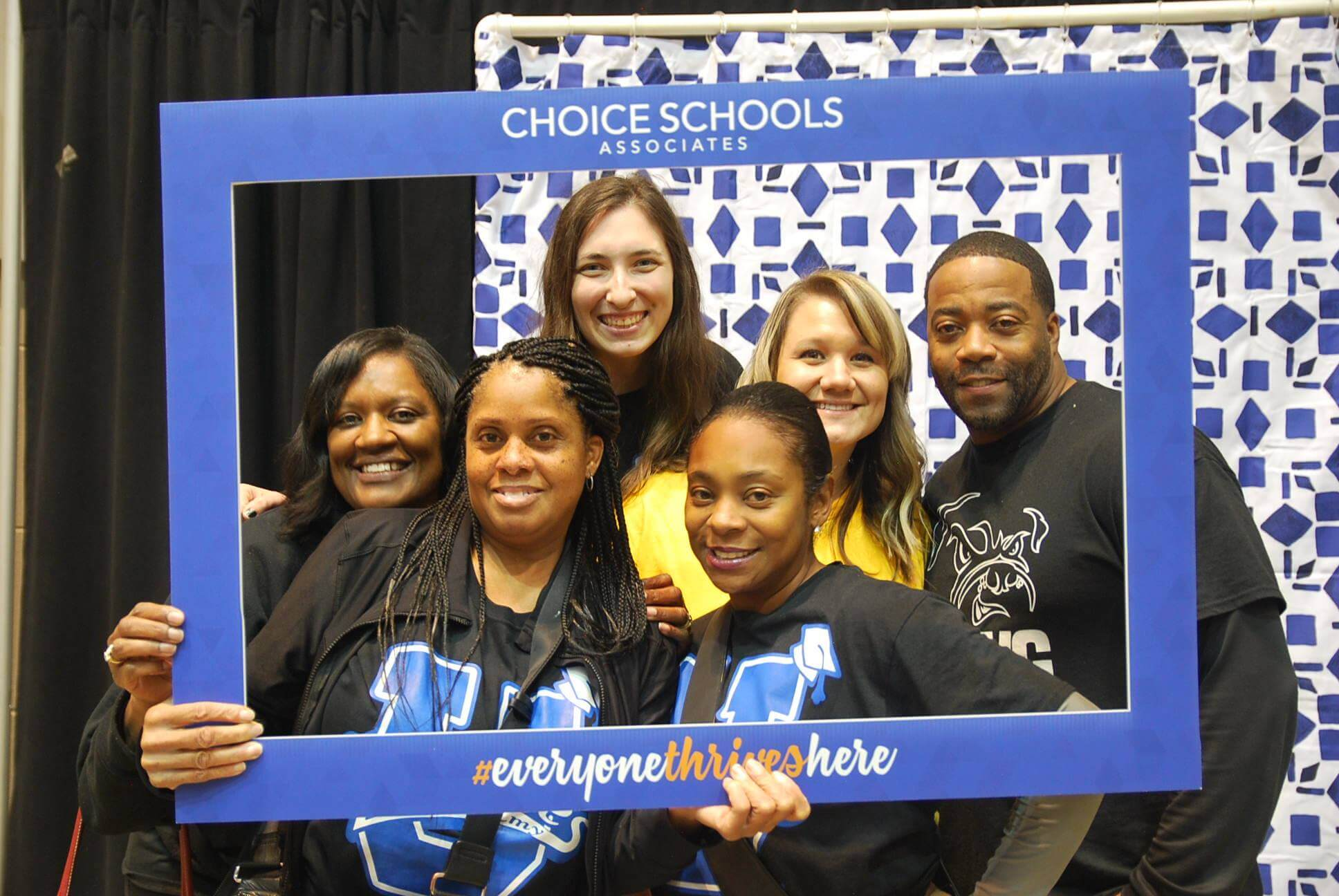 Choice U - Dove staff at photo booth