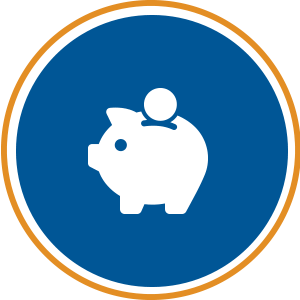 securing funding icon