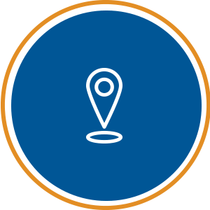 selecting location building site icon