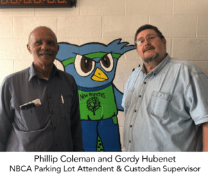 Phillip Coleman and Gordy Hubenet