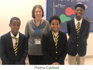 Thelma and students
