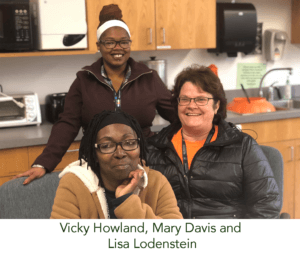 Ms Vickey, Ms. Mary, and Ms. Lisa